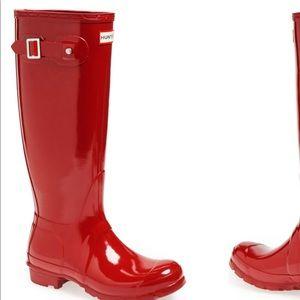 162abbbda2cb Hunter. Hunter Women s Original Tall Glossy Rainboots. NWT